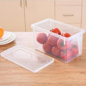 Strongwell Kotak Kontainer Makanan Kulkas Kitchen Storage Food Box 29x14.5x14.5CM - SW804-S - Transparent - 5