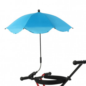 La MaxZa Payung Multifungsi Stroller Kereta Bayi Folded Pram Umbrella - U145 - Blue