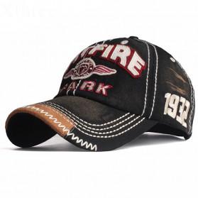 Xthree Topi Baseball Snapback Spitfire Spark Sign - Black