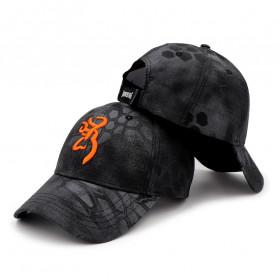 Topi Pria Terbaru - Browning Topi Baseball Snapback Military Camo Style - Black