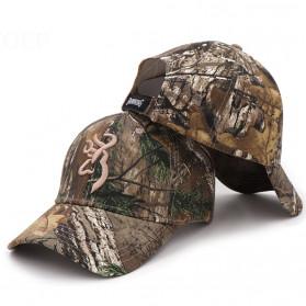 Browning Topi Baseball Snapback Military Camo Style - Green