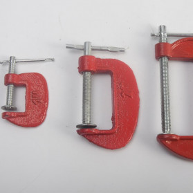 Tookie Penjepit Kayu C-Clip Clamp Woodworking Carpentry Gadgets 2 Inch - G3 - 6