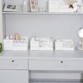 Mrosaa Rak Organizer Make Up Kosmetik Rack House Container Size M - ASS319 - White - 3