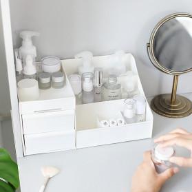 Mrosaa Rak Organizer Make Up Kosmetik Rack House Container Size M - ASS319 - White - 4