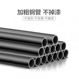 BKZ Hanger Gantungan Baju Rak Lemari Pipa Anti Slip 130x60x40cm - hkg122 - Black - 2