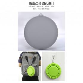 ACEBON Gelas Lipat Silikon Foldable Travel Mug 500ml - GY1000 - Blue - 4