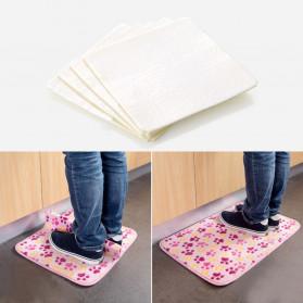 Ouneed Grip Anti Slip Karpet Keset Serbaguna 4 PCS - M04 - White