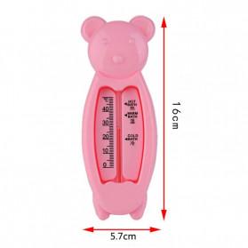 Aracelady Thermometer Ukur Suhu Air Bak Mandi Bayi Model Kartun - T99 - Mix Color - 3