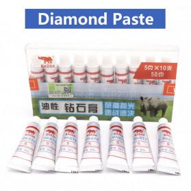 BADAK Pasta Pengasah Pisau Abresive Polishing Paste Buffing Compound Metal Knife Grinding W1 - Grit 8000 - White - 2