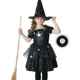 TONQUU  Bola Sulap Mainan Black 8 Portable Gift Magic Ball Educational Toy Fortune - 82150 - Black - 5