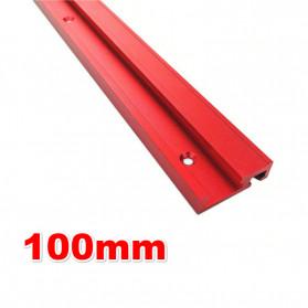 Peralatan Jahit - FNICEL T-tracks Slot Miter Slider Bar Woodworking Tools 100mm - 45TSLOT