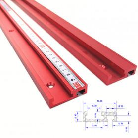 FNICEL T-tracks Slot Miter Slider Bar Woodworking Tools 400mm - 45TSLOT - 5