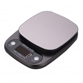 VKTECH Timbangan Dapur Digital Kitchen Scale 3kg 0.1g - C305 - Gray