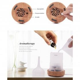 Umiwe 3D Firework Glass Vase LED Humidifier Aromatherapy - RJ300 - Brown - 8