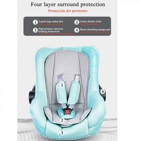 Wisesonle Baby Stroller Kereta Dorong Bayi Multifungsi 3 in 1 Folding High Landscape -  ST01 - Gray - 4