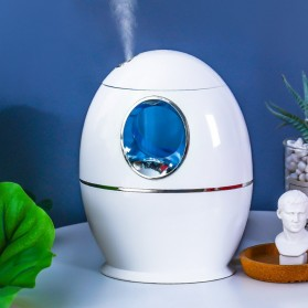 DELIXING Ultrasonic Air Humidifier Diffusers Aromatherapy 800ml - RJS63 - White - 3