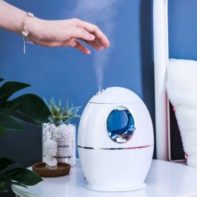 DELIXING Ultrasonic Air Humidifier Diffusers Aromatherapy 800ml - RJS63 - White - 6
