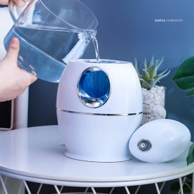 DELIXING Ultrasonic Air Humidifier Diffusers Aromatherapy 800ml - RJS63 - White - 7