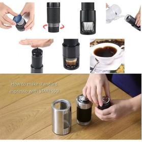 STARESSO Manual Espresso Coffee Maker Italian Concentrate Portable Machine 15 BAR - SP200-1 - Black - 5