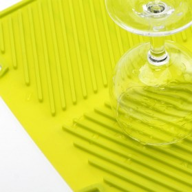 DSstyles Alas Pengering Dapur Piring Gelas Foldable Kitchen Drainer - QW-825 - Gray - 4