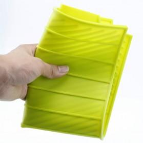 DSstyles Alas Pengering Dapur Piring Gelas Foldable Kitchen Drainer - QW-825 - Gray - 6