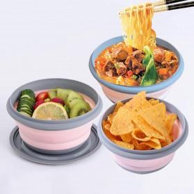 Loriver Kotak Makan Foldable Healthy Bento Lunch Box Eco Friendly 3 PCS - HG13062 - Pink - 3