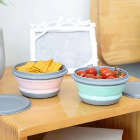 Loriver Kotak Makan Foldable Healthy Bento Lunch Box Eco Friendly 3 PCS - HG13062 - Pink - 6