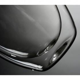 One Two Cups Gelas Cangkir Kopi Anti Panas Double-Wall Borosilicate Glass Round Series 350ml - Transparent - 5