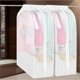 YIXIN PEVA Cover Pakaian Anti Debu Dustproof Cloth Organizer 60x50x90cm -  PE1 - Transparent