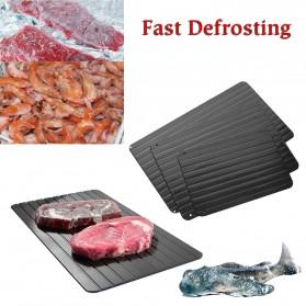Meijuner Talenan Defrosting Daging Beku Multifungsi Meat Fast Thawing Board Size L - H0KA-748 - Black