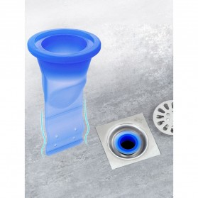 Silko Silikon Penutup Lubang Pipa Sewer Seal Leak Water Pipe Draininner - YS02 - Blue