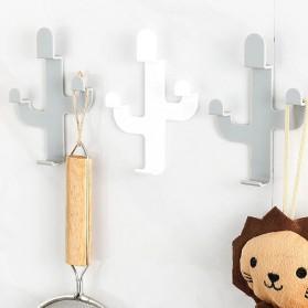 UrbanLife Gantungan Dinding Kaktus Hook Hanger Stainless Steel - H012 - White - 2