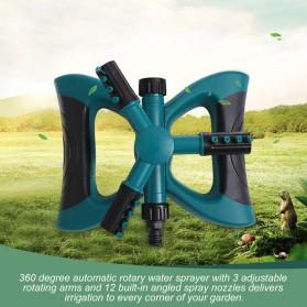 EECOO Sprinkler Air Taman 360 Derajat Automatic Watering Grass Lawn - BB-3106 - Green - 1