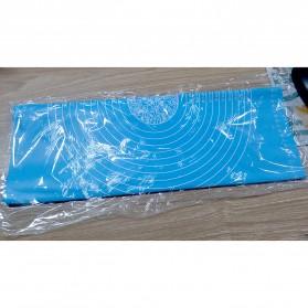 OTC Mat Alas Adonan Kue Fondant Silikon Non Stick 64 x 45cm - JJ3800 - Blue - 8