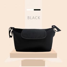 Perlengkapan Stroller Bayi - Godmy Tas Perlengkapan Kereta Dorong Bayi Stroller Storage Bag - BB021 - Black