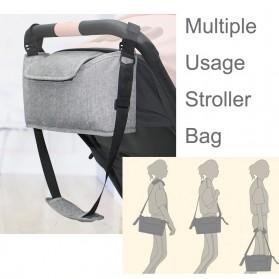 Godmy Tas Perlengkapan Kereta Dorong Bayi Stroller Storage Bag - BB021 - Black - 2
