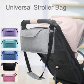 Godmy Tas Perlengkapan Kereta Dorong Bayi Stroller Storage Bag - BB021 - Black - 3