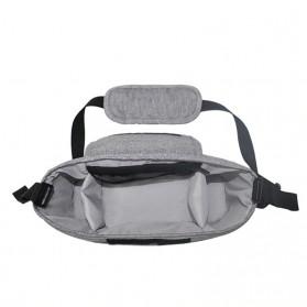 Godmy Tas Perlengkapan Kereta Dorong Bayi Stroller Storage Bag - BB021 - Black - 4