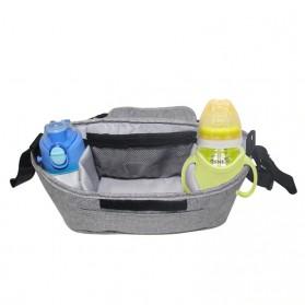 Godmy Tas Perlengkapan Kereta Dorong Bayi Stroller Storage Bag - BB021 - Black - 5
