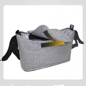Godmy Tas Perlengkapan Kereta Dorong Bayi Stroller Storage Bag - BB021 - Black - 6