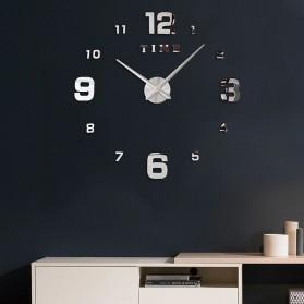LUMINOVA Jam Dinding Besar DIY Giant Wall Clock Quartz Glow in The Dark 80-130cm - Lumi-005 - 8