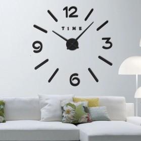 LUMINOVA Jam Dinding Besar DIY Giant Wall Clock Quartz Glow in The Dark 80-130cm - Lumi-005 - 9