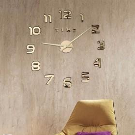 LUMINOVA Jam Dinding Besar DIY Giant Wall Clock Quartz Glow in The Dark 80-130cm - Lumi-009 - 11