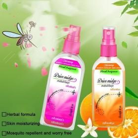 Drive Midge Obat Anti Nyamuk Mosquito Repellent Liquid Spray 80ml - Orange - Multi-Color - 6