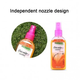 Drive Midge Obat Anti Nyamuk Mosquito Repellent Liquid Spray 80ml - Orange - Multi-Color - 8