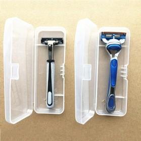 Kotak Alat Cukur Universal Shaver Storage Box - YJ33319 - Transparent - 2