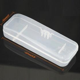 Kotak Alat Cukur Universal Shaver Storage Box - YJ33319 - Transparent - 3
