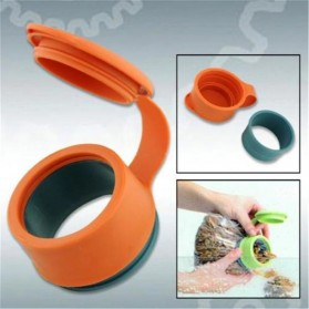LIMITOOLS Penutup Plastik Serbaguna Magic Cover Bag Cap - MX-814 - Orange