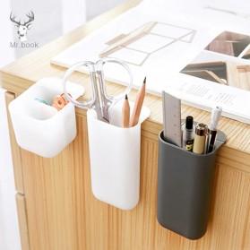 BLINGIRD Kotak Pensil Meja Holder Desktop Organizer Storage Box - AAA05 - Gray - 2