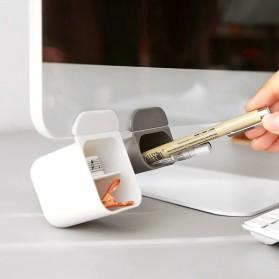 BLINGIRD Kotak Pensil Meja Holder Desktop Organizer Storage Box - AAA05 - Gray - 5
